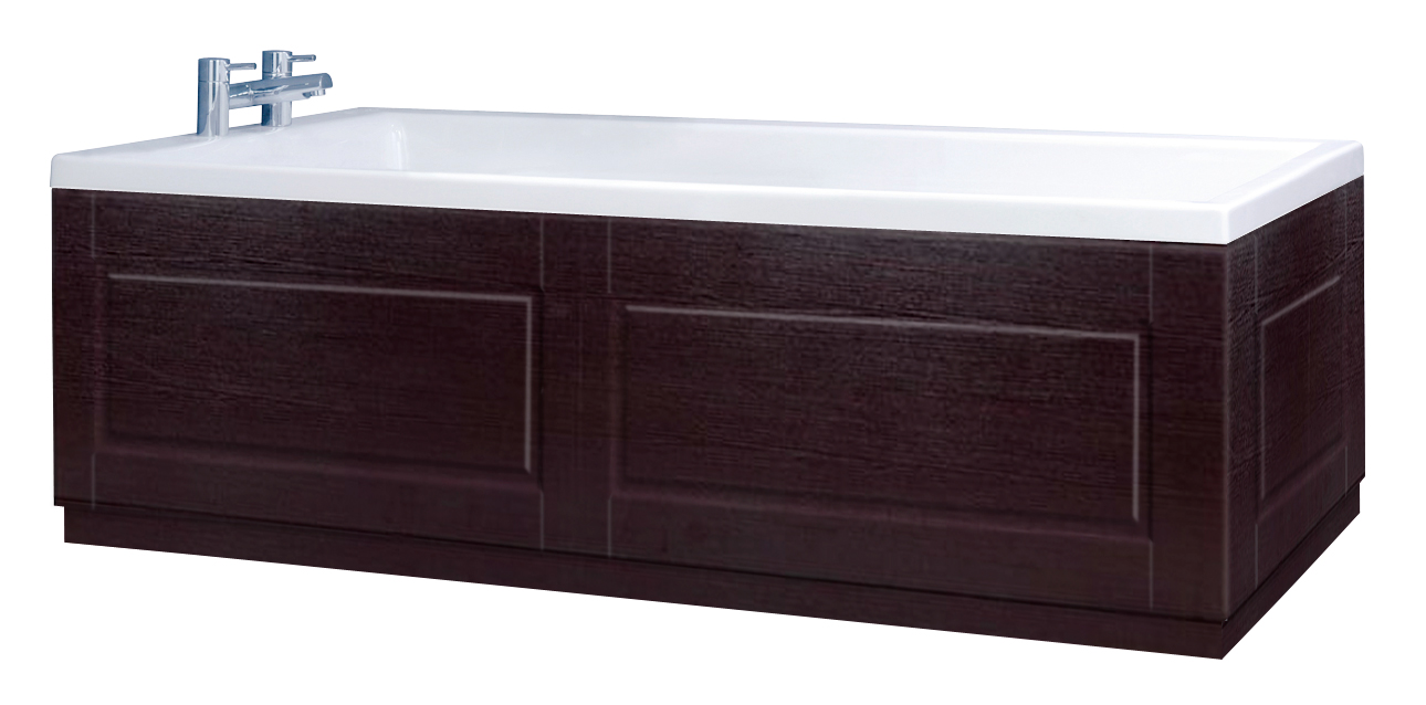 Shaker Style Wenge 2 Piece Adjustable Bath Panels