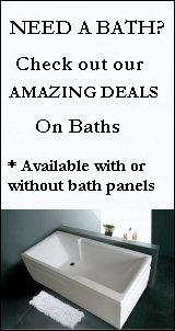 baths with bath panels