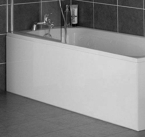 Commercial grade Matt White 1 Piece Bath Panels