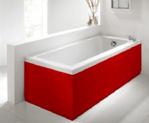 Red Bath Panels