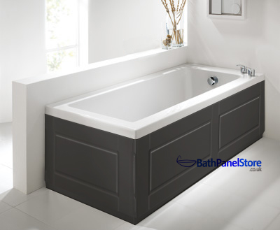 Shaker Style Anthracite 2 Piece adjustable Bath Panels