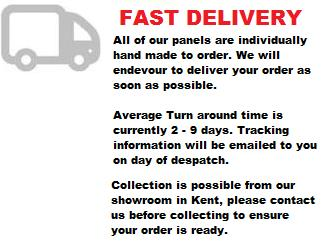 fast delivery on  bath panels